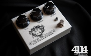 Mythical Overdrive with custom white pearl finish