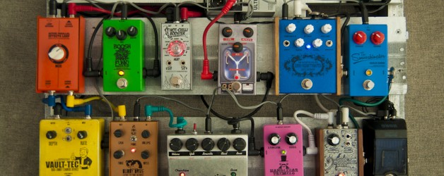 My ever changing pedalboard …