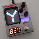 The flux capacitor delay pedal!
